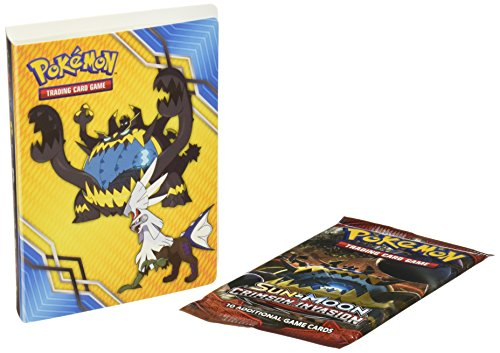 PoKéMoN POC500 Sun and Moon 4: Crimson Invasion-Collector's Album, Mehrfarbig, 40 x 40 cm