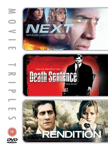 Next/Death Sentence/Rendition [Edizione: Regno Unito]