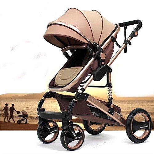 """Kinderwagen \""""California\"""", 3 in 1 Kombikinderwagen Megaset 8 teilig inkl. Babywanne, Babyschale, Sportwagen und Zubehör, zertifiziert nach der Sicherheitsnorm EN1888, beige"""