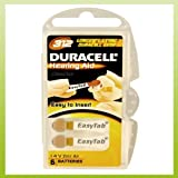 6 Stück Duracell Easy Tab DA 312 Hörgerätebatterie - 180 mAh 1,4 V