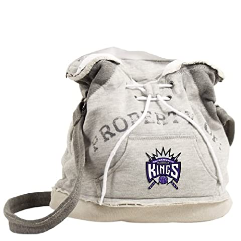 NBA Portland Trail Blazers Hoodie Duffel (Grey)
