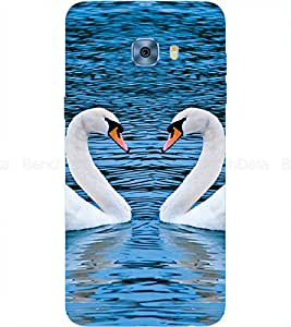 Swan Printed Back Cover for Samsung Galaxy C5 Pro