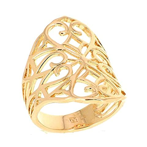 ISADY - Chelsea Gold - Bague femme - Plaqué Or 750/000 (18 carats)