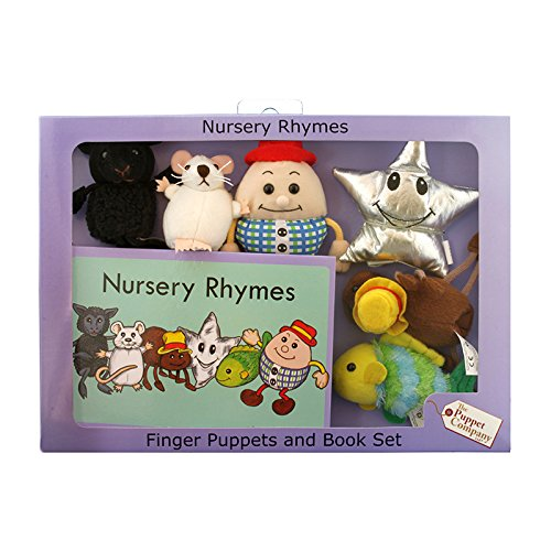 The Puppet Company - Traditional Story Sets - Nursery Rhymes Finger Puppet Set