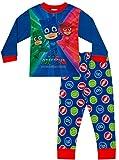 PJ Masks, pigiama lungo da bambino,taglia 3- 7anni Blu Blue