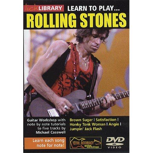 Preisvergleich Produktbild Lick Library: Learn To Play The Rolling Stones. Für Gitarre