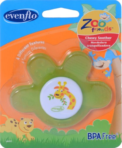evenflo-zoo-friends-chewy-soother-paw
