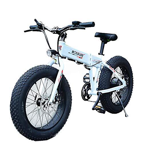 Bicicleta Electrica Paseo Montaña Plegable Ion Litio E-Bike Adult