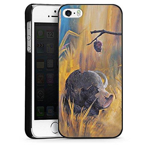 Apple iPhone 6 Housse Étui Silicone Coque Protection Désert Sable Jaune CasDur noir