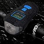 Aakrei-Luci-da-Bicicletta-USB-di-Ricarica-Luci-da-Corno-Glare-Torcia-Accessori-da-Guida-Accessori-per-la-Notte-Fari-per-Mountain-Bike-LED-Luci-per-Bici-Set-IPX4-Luci-per-Bici-Impermeabili
