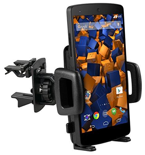mumbi KFZ Lüftungsgitter Halterung Google Nexus 5 Vent Mount Kugelgelenk Autohalterung Nexus 5 (Nexus Mount)