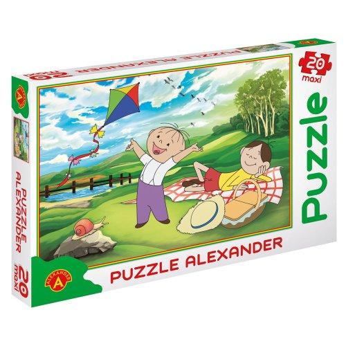 Puzzle 20 Maxi Bolek i Lolek Piknik