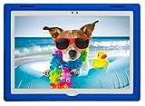 BobjGear Bobj Carcasa Resistente para Tablet Lenovo Tab 4 10 Plus (TB-X704V, TB-X704F, TB-X704L, TB-X704Y, MotoTab TB-X704A) (Azul)