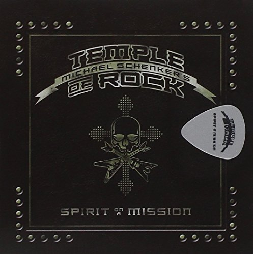 Spirit On A Mission (Ltd Guitar Pick Edition) by Michael Schenker's Temple Of Rock