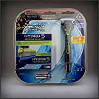 Wilkinson Sword Hydro 5 Power Select Vorteilspack, 5 Klingen plus Rasierer