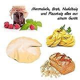 750-1250g Brotbackautomat mit 2 Knethaken und Nudel- und Pizza-Teig-Programm | Marmelade-Programm | 850 Watt | 12 Programme | Warmhaltefunktion | Verzögerungs-Funktion bis 15 Stunden | 17 Rezepte - 6