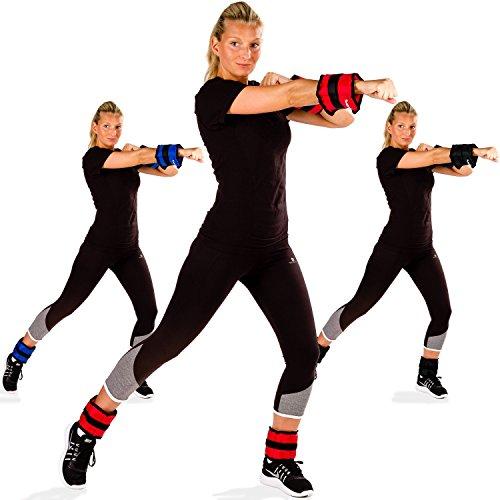 Handgewichte MOVIT 4er Set Gewichtsmanschetten