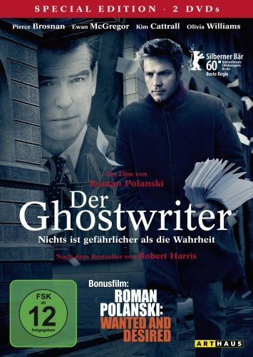 "Der Ghostwriter / 2 DVD Special Edition (inkl. Bonusfilm ""Roman Polanski: Wanted and Desired"")"