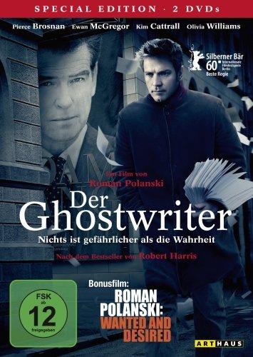 Der Ghostwriter / 2 DVD Special Edition (inkl. Bonusfilm
