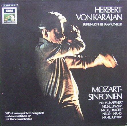 """Preisvergleich Produktbild Mozart: Sinfonien Nr. 35 """"Haffner"""",  Nr. 36 """"Linzer"""",  Nr. 38 """"Prager"""",  Nr. 39,  Nr. 40,  Nr. 41 """"Jupiter"""" & Proben-Mitschnitte [Vinyl Schallplatte] [4 LP Box-Set]"""