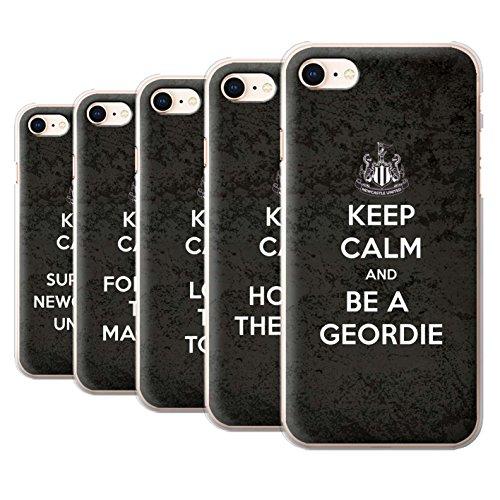 Officiel Newcastle United FC Coque / Etui pour Apple iPhone 8 / Regarder NUFC Design / NUFC Keep Calm Collection Pack 7pcs