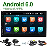 Wireless-Kamera inklusive! EinCar Android 6.0 Quad-Core-Doppel-DIN-Autoradio im Schlag GPS-Navigation Head Unit Unterst¨¹tzung Bluetooth 4.0 / WIFI / 4G / FM AM RDS Radio / Fernbedienung / OBD / DVR / Lenkrad-Steuerung + Mikrofon
