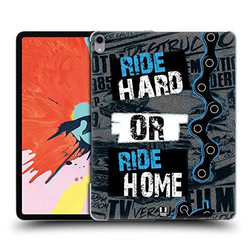 Head Case Designs Ride Hard Or Ride Home Live BMX Coque Dure pour l'arrière Compatible avec iPad Pro 12.9 (2018)