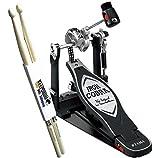 Tama Iron Cobra HP900RN Rolling Glide Fußmaschine + KEEPDRUM Drumsticks