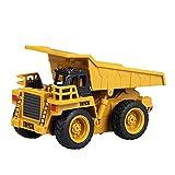 Mecotech RC Auto Mini Ferngesteuerte Autos 1:64 Skala RC LKW Gabelstapler Ferngesteuert Baufahrzeuge Spielzeug für Kinder ab 6 Jahren