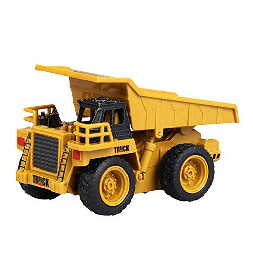 RC Auto kaufen Baufahrzeug Bild: Mecotech RC Auto Mini Ferngesteuerte Autos 1:64 Skala RC LKW Gabelstapler Ferngesteuert Baufahrzeuge Spielzeug für Kinder ab 6 Jahren*