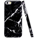 JIAXIUFEN Coque iPhone 5 5S Se, Silicone TPU Étui Housse Souple Antichoc Protecteur...