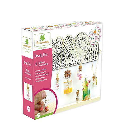 Kit de loisir créatif enfant - Bijoux bouteilles - 6 projets - DIY - Lovely Box Collector - Dès 7 ans - Sycomore - CRE1034