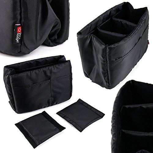 'Organizer-Rucksack/Handtasche für Spielkonsole Nintendo Switch Display 6,2-3Fächer-von DURAGADGET Hybrid-display