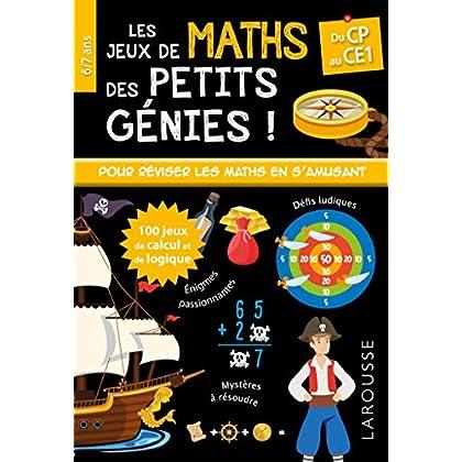Les JEUX de MATHS et LOGIQUE des petits génies CP