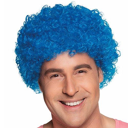 erücke blau Einheitsgröße (Lustige Afro)