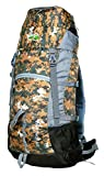 Hiker's way 60 Ltrs Camouflage Internal Frame Rucksack Backpacks Travel Bag Hiking Bag