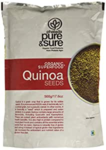 Pure & Sure Organic Quinoa Seeds, 500g