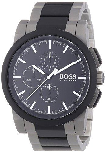 Hugo Boss Herren-Armbanduhr XL NEO Chronograph Quarz Edelstahl 1512958