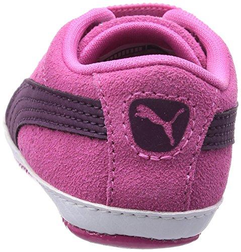 Puma SUEDE CRIB Rosa Leder Baby Sneakers Schuhe Neu Pink