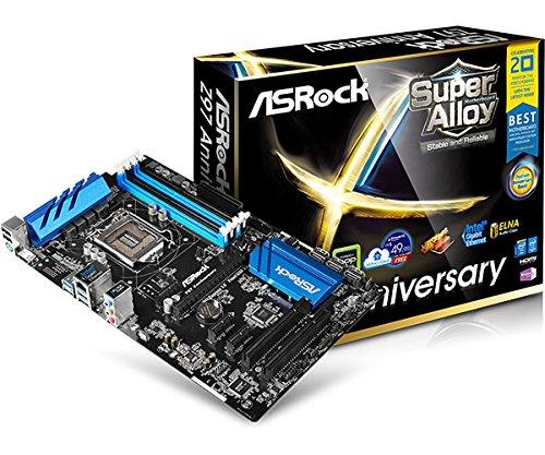 Asrock Z97 Anniversary  Mainboard Socket 1150 (Intel Z97, 4x DDR3, 4x USB 3.0, 6x SATA III)