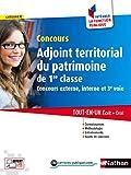Adjoint territorial du patrimoine de 1re classe - Catégorie C - Intégrer la fonction publique - 2016...