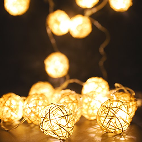 Lights & Lighting Special Section 20 Led Romantic Fairy String Lights Copper Rope String Lights Home Kitchen Coffee Wedding Party Outside Diy Decor Multicolor Easy And Simple To Handle
