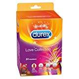 Durex Love Collection Kondome, bunter Kondom Mix-Pack für mehr Abwechslung,...