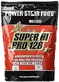 SUPER HI PRO 128, Top-Protein, 1000g Beutel, Protein-Bestseller von höchster biologischen Wertigkeit 128, Geschmack: Vanille