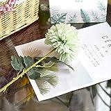 SOQHD Löwenzahn-Simulation Blumenstrauß Kunststoff-Silk Blumen-Fälschungs-Blumen-Hochzeit Dekoration (Color : Green)