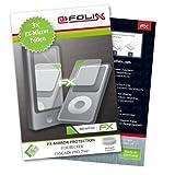atFoliX FX-Mirror Displayschutzfolie für Becker Cascade Pro 7941 (3 Stück)
