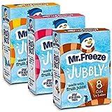 Mr Freeze Ice Jubbly Ice Lollies Pack of 3 (Orange, Strawberry & Cola)