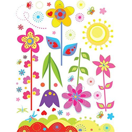 n Schmetterling Wandaufkleber Abnehmbare Cartoon Wandsticker für Kinderzimmer Schlafzimmer Kindergarten Dekoration (Cartoon-dekorationen)