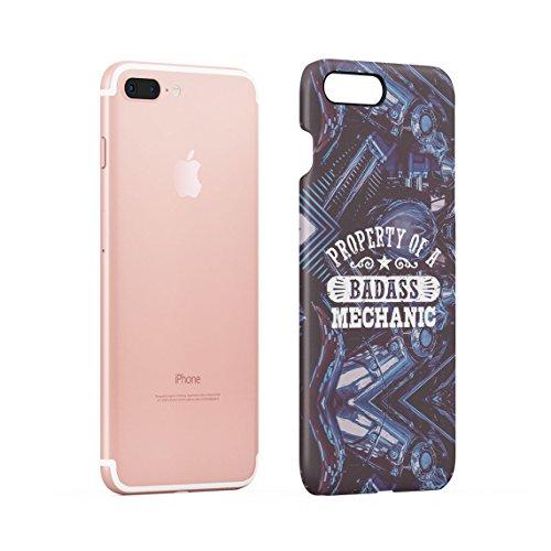 Trust Me I Am An Engineer Dünne Rückschale aus Hartplastik für iPhone 7 Plus & iPhone 8 Plus Handy Hülle Schutzhülle Slim Fit Case cover Badass Mechanic