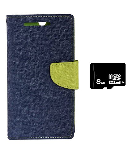 Zocardo Diary Flip Case Cover for Asus Zenfone C -Blue , 8GB Memory Card with magnetic lock, pocket for card & money  available at amazon for Rs.562